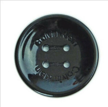"Calvin Klein Plastic Black Color Main Front Coat Replacement Button 1.10"" - $8.68"