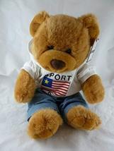 "TC Dawson Teddy Bear with USA Sport Hoodie 17 "" - $17.70"