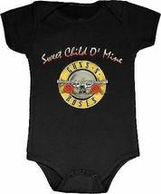 GUNS N ROSES SWEET CHILD O' MINE BABY ROMPER ROCK MUSIC INFANT 1 PIECE B... - $19.80