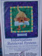 "Quilting Pattern ""Information Retrieval System"" UNCUT 19.5"" x 21.5"" - $4.99"