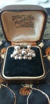 Vintage 1960-S 925 Sterling Silver Articulated Bauble Ring Size UK R 1/2, US 9 - $68.31
