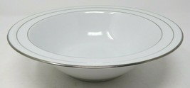 "Noritake Stoneleigh Round Vegetable or Salad Bowl 9.75"" White Porcelain ... - $61.74"