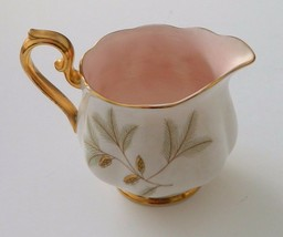 Royal Albert Braemar Creamer Gold Trim Bone China Made in England - Vintage - $12.82