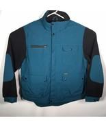 Koolah Men's XL Jacket Teal Blue Black Made In Canada - $74.79