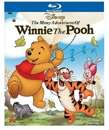 Disney Many Adventures of Winnie the Pooh [Blu-ray + DVD] - $7.95
