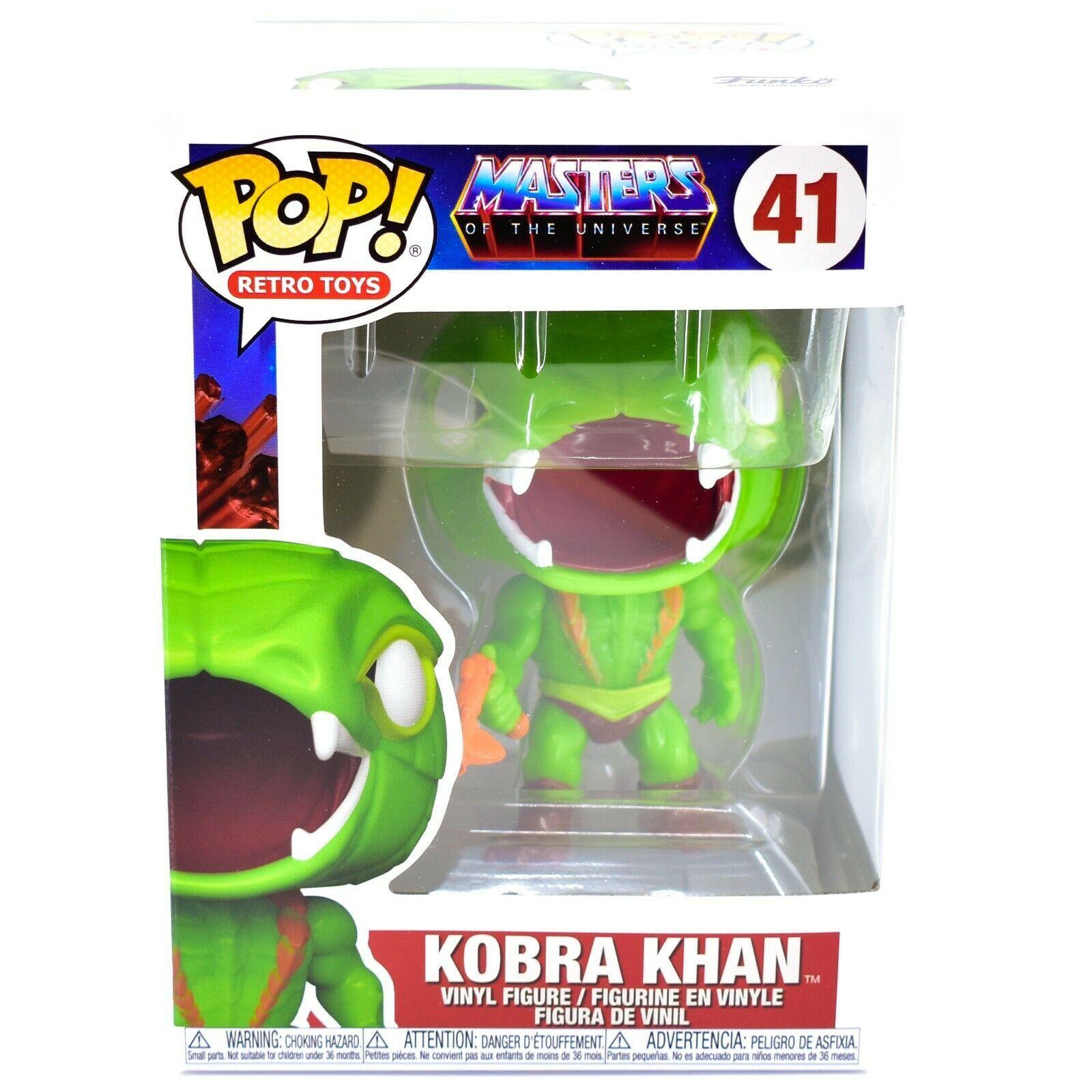 Funko Pop! Retro Toys Masters of the Universe MOTU Kobra Khan #41 Vinyl Figure