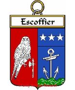ESCOFFIER French Coat of Arms Print ESCOFFIER F... - $25.00
