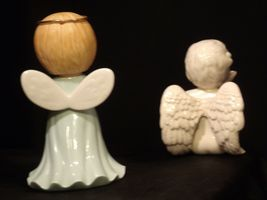 Ceramic Angels AA-191730  Vintage Collectible Pair image 7