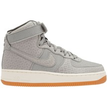 Nike Womens Air Force 1 One High Premium Croc 654440-008 Wolf Grey sz 9.... - $71.05