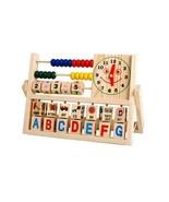 Children Developmental Learning Toys Alphabets Mathematics Abacus Learni... - $14.84