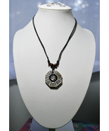 Ying & Yang Diagrams Pendant Choker Necklaces - $13.99