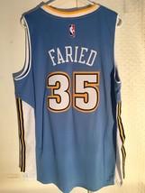 Adidas Swingman 2015-16 NBA Jersey Denver Nuggets Kenneth Faried Light Blue XL - $14.84