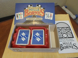 Hasbro Mille Bornes Collector's Edition Classic Auto Race Card Game - Complete - $19.99