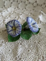 Lenox Morning Glory Flower Fine Porcelain Figure 1990 - $24.24