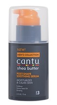 Cantu Shea Butter Men's Collection Post-Shave Soothing Serum, 2.5 Ounce