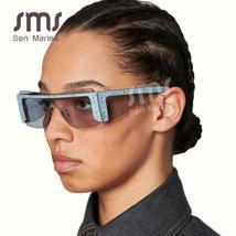 Fashion Rimless Square Sunglasses Women  Luxury Brand Mirror Pink Shades Sunglas image 5