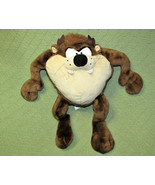 "15"" TALKING TAZ VINTAGE APPLAUSE Tasmanian Devil Looney Tunes Stuffed An... - $17.82"