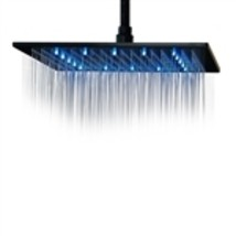 "Single Color Fontana 12"" Oil Rubbed Bronze Square Single Color LED Rain ... - $284.00"