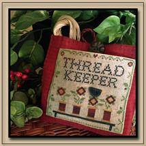 CLEARANCE Thread Keeper cross stitch chart Little House Needleworks - $6.00