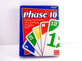 """FUNDEX """"Phase 10"""" Card Game Rummy type Most Challenging Card Game You'll... - $4.94"""