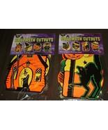 8 Vintage Halloween Decorations PACKAGED RETRO Styled BEISTLE Repro Die-... - $7.99