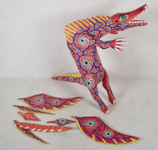 Signed Cordova Oaxacan Alebrije Hand Carved Wood Painted Mexican Folk Ar... - $39.60