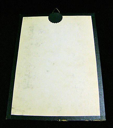 Vintage Hummel Print Hauptprobe Little Scholar