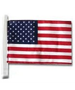 U.S. CAR ANTENNA POLY/COTTON FLAG AND OTHER CAR WINDOW FLAGS (NEW) - $10.00+
