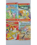 The Magic School Bus chapter 4 book Lot 5 6 10 11 Twister Germ Insect Do... - $8.90
