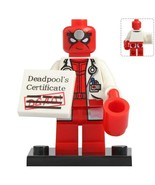Doctor Deadpool - Marvel Comics Custom Minifigure Block Gift Toys - $2.99