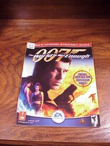 007 The World Is Not Enough Prima Strategy Guide Book for N64 PS1, nice shape   - $7.95
