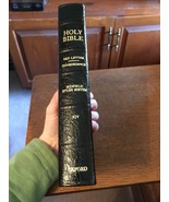 Genuine Leather 1945 edition KJV Old Scofield Study Bible INDEXED - $57.91
