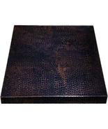 36x36 Copper Table-Top Dark Patina - $550.00
