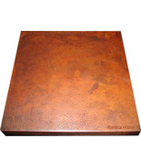36x36 Copper Table-Top Light Patina - $550.00