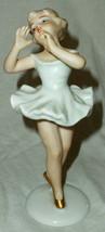 Wallendorf Ballerina Dancer Girl Porcelain Figurine 1764 - $33.24