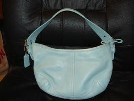 Coach Small Blue Soho 8541 Vintage - $15.00