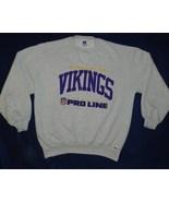 Minnesota Vikings Size XL Gray Sweatshirt  Pre-owned - $20.99