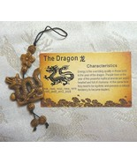 LUCKY DRAGON CHARM - CHINESE ZODIAC YEAR OF THE DRAGON LUCKY CHARM ON A ... - $4.13