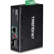 TRENDnet Industrial SFP to Gigabit PoE+ Media Converter, IP30 Rated Hous... - $251.99