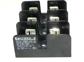 FERRAZ SHAWMUT 60303J FUSE BLOCK 600V, 30A image 1