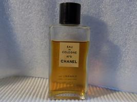 CHANEL No. 5 EAU DE COLOGNE 2oz OLD FORMULA  75 - 80% FULL - $29.95