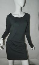 Dvf Diane Von Furstenberg Dress Gray Knit Career Workwear Size 6 - $65.19