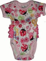 Preemie Girls Ladybug Onesie Laura Dare 4-7 Pounds - $24.00