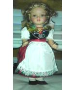 Vintage 1940's GURA Tegernesee Bavaria German Doll 12 1/2 inches Tall Ra... - $55.00