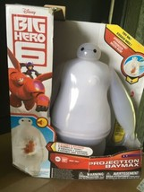 Big Hero 6 Projection Baymax Vinyl Action Figure with 8 Scenes & Sound E... - $23.75