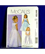 Mccalls 4759 Special Moments, Flower Girl Dress Gown Sz2-3-4-5 Uncut Sew... - $8.66
