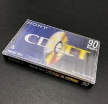 SONY CD-It Audio Cassette Tape Blank 90 Minute Tape High Bias Type II - $4.13