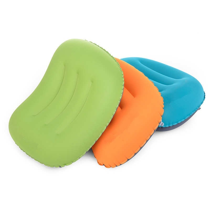 Outdoor travel inflatable portable neck pillow