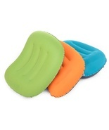 Outdoor travel inflatable portable neck pillow - $304,36 MXN