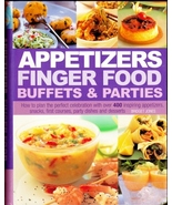 Appetizers Finger Food Buffets and Parties Cook... - $7.99